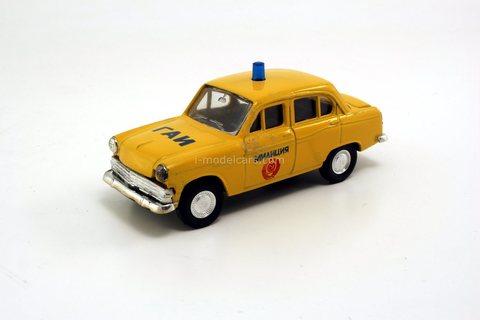 Moskvich-403 Police traffic GAI Agat Tantal 1:43