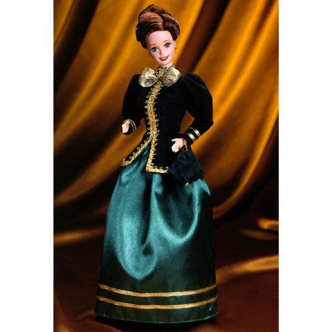 Коллекционная Кукла Барби Романтичные Святки (Yuletide Romance) - Праздничные Традиции, Mattel