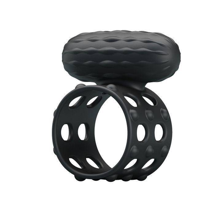 Эрекционные кольца: Широкое эрекционное кольцо с вибрацией Osborn