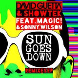 David Guetta feat. Showtek / Sun Goes Down (Remixes)(Single)(12