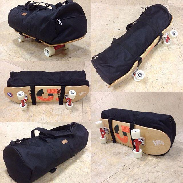 Сумка для скейтборда Skate apparel duffel bag 007 black