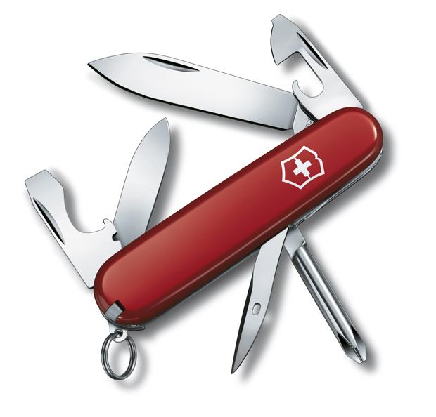 Нож Tinker Small, 84 мм, 12 функций, красный*