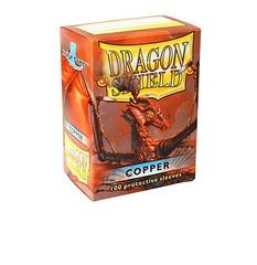 Dragon Shield - Медные матовые протекторы 100 штук