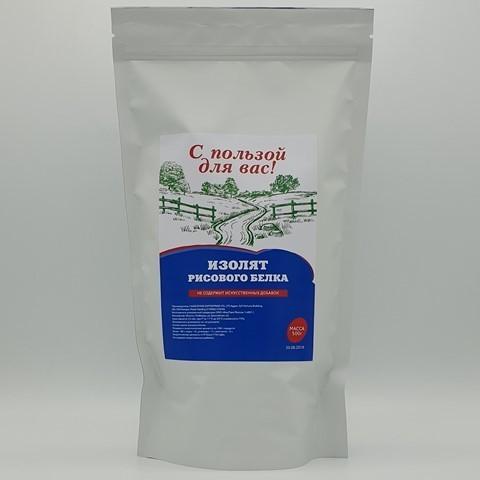 Изолят рисового белка С ПОЛЬЗОЙ ДЛЯ ВАС, 500 гр