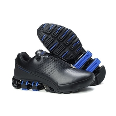 Adidas Porsche Design Black Blue Leather