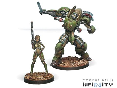 Anaconda, Mercenary TAG Squadron