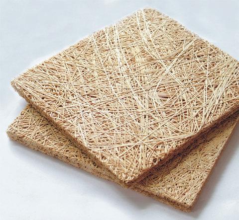 Акустическая панель WOOD WOOL  БАЗОВАЯ  на основе древесного волокна 15mm