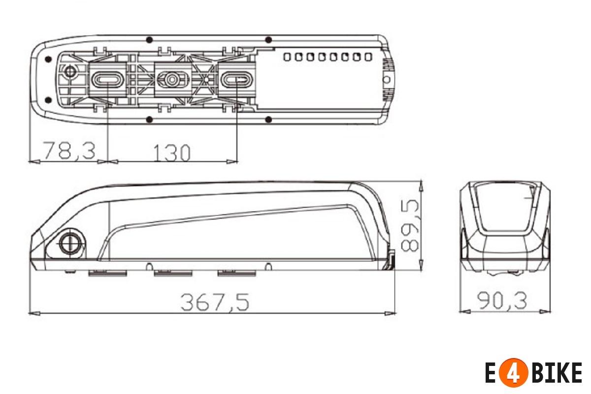 Аккумуляторная батарея LiNCA 48 В 14.4 Ач (670 Втч)