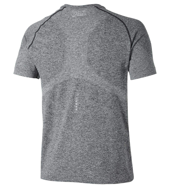 Мужская спортивная футболка Asics Seamless Top (121622 0934) серая фото