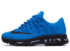 Кроссовки Мужские Nike Air Max 2016 Blue Black