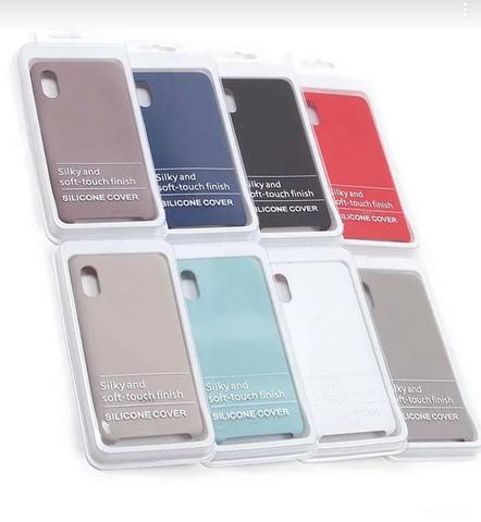 Чехол для Samsung A10 Silicon Cover Синий