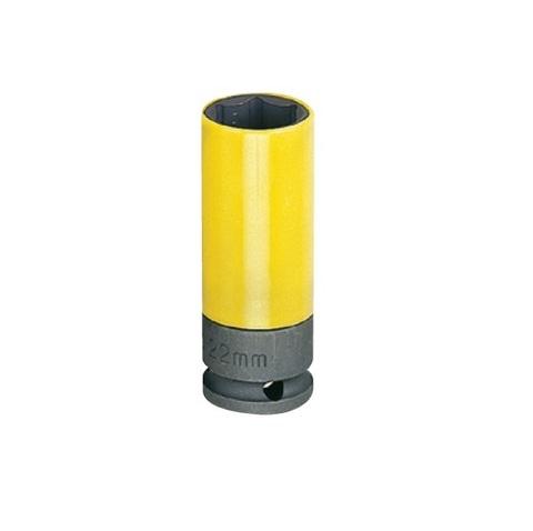 Головка ударная колесная 22 мм, в пластиковой защите, HONITON ISK-4022