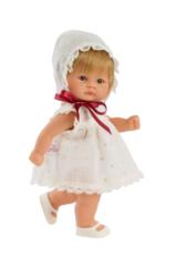 ASI Кукла-пупсик в белом платье, 20 см (114190)