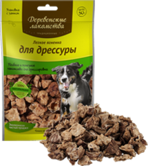 Деревенские лакомства Традиционные для собак Легкое ягненка для дрессуры 30г