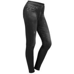 Леджинсы Slim'n Lift Caresse Jeans 33169.118 (черный)