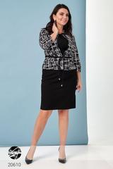 Комплект: платье с жакетом Fason 20610
