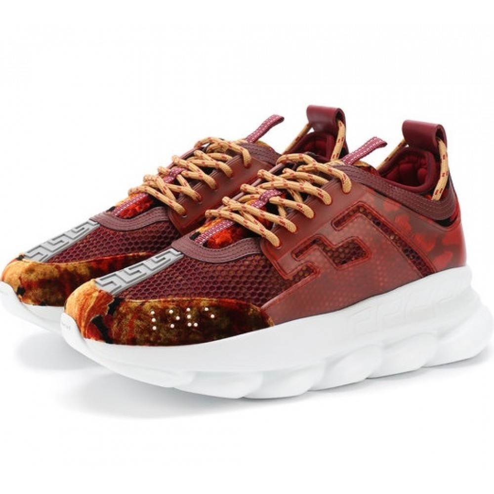 Versace Chain Reaction Burgundy (007)