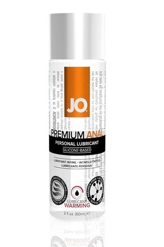 Анальный возбуждающий лубрикант на силиконовой основе JO Anal Premium Warming,  2 oz  (60 мл) фото