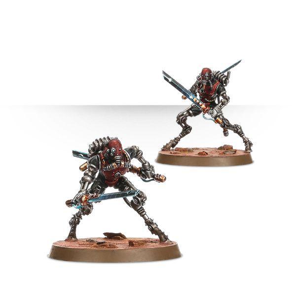 Adeptus Mechanicus Sicarian Ruststalkers