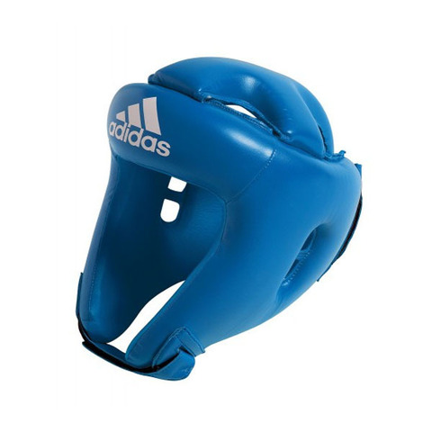 Боксерский шлем Adidas Competition Head Guard adibH01 (Синий)