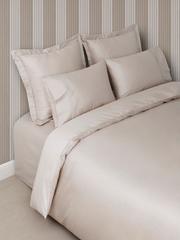 Постельное белье 2 спальное евро Luxberry Basic песочное