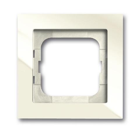 Рамка на 1 пост. Цвет Сhalet белый. ABB(АББ). Axcent(Акcент). 1754-0-4486