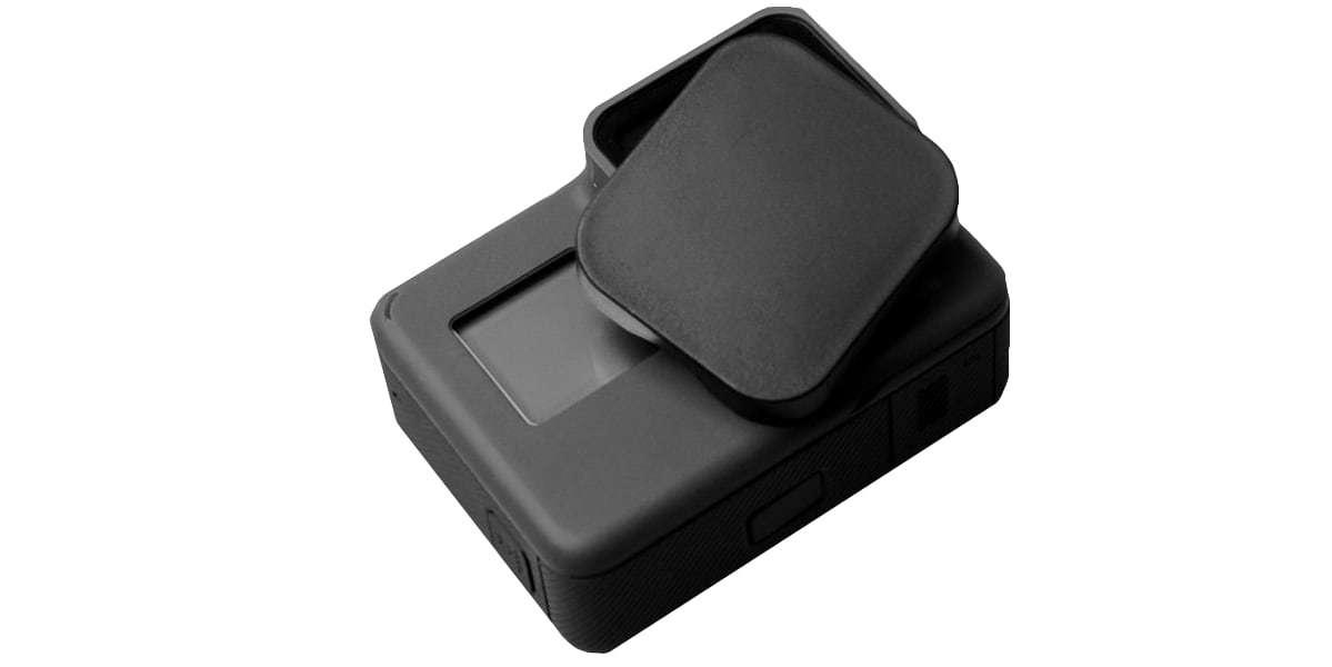Защитная крышка на объектив HERO5, HERO6 и HERO7 Black с камерой HERO5