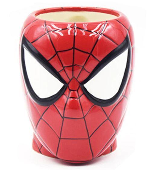 Человек паук кружка скульптурная керамика