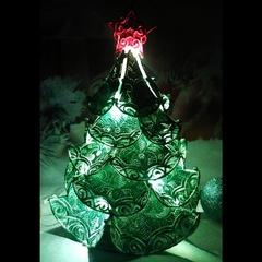 Ель королевская ночник зеленая, 20 см