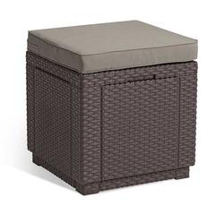 Пуф - сундук Keter Cube Сushion