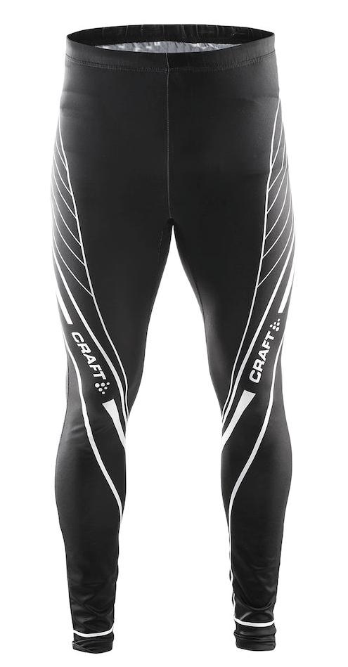 Лыжные гоночные тайтсы Craft PXC (1902813-9900) черные