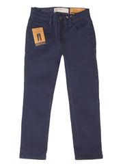 BJN004570 джинсы для мальчиков, темно-синий
