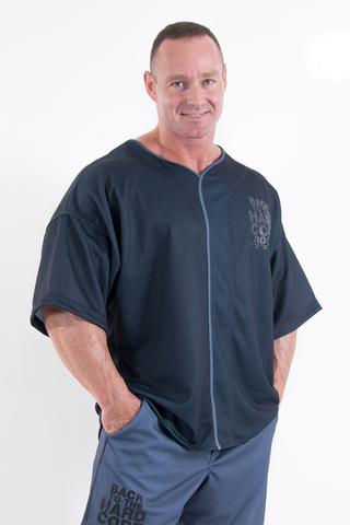 Мужская футболка Nebbia Hardcore 305 black