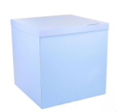 Большая коробка для шаров (голубая) 60*80*80