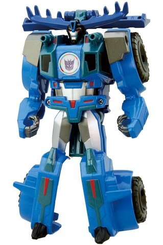 Робот - Трансформер Тандерхуф (Thunderhoof) в 1 шаг - В Маскировке, Takara Tomy