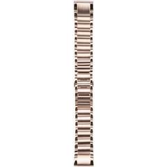Браслет стальной QuickFit 20 для Garmin Fenix 5S (розовое золото) 010-12739-02