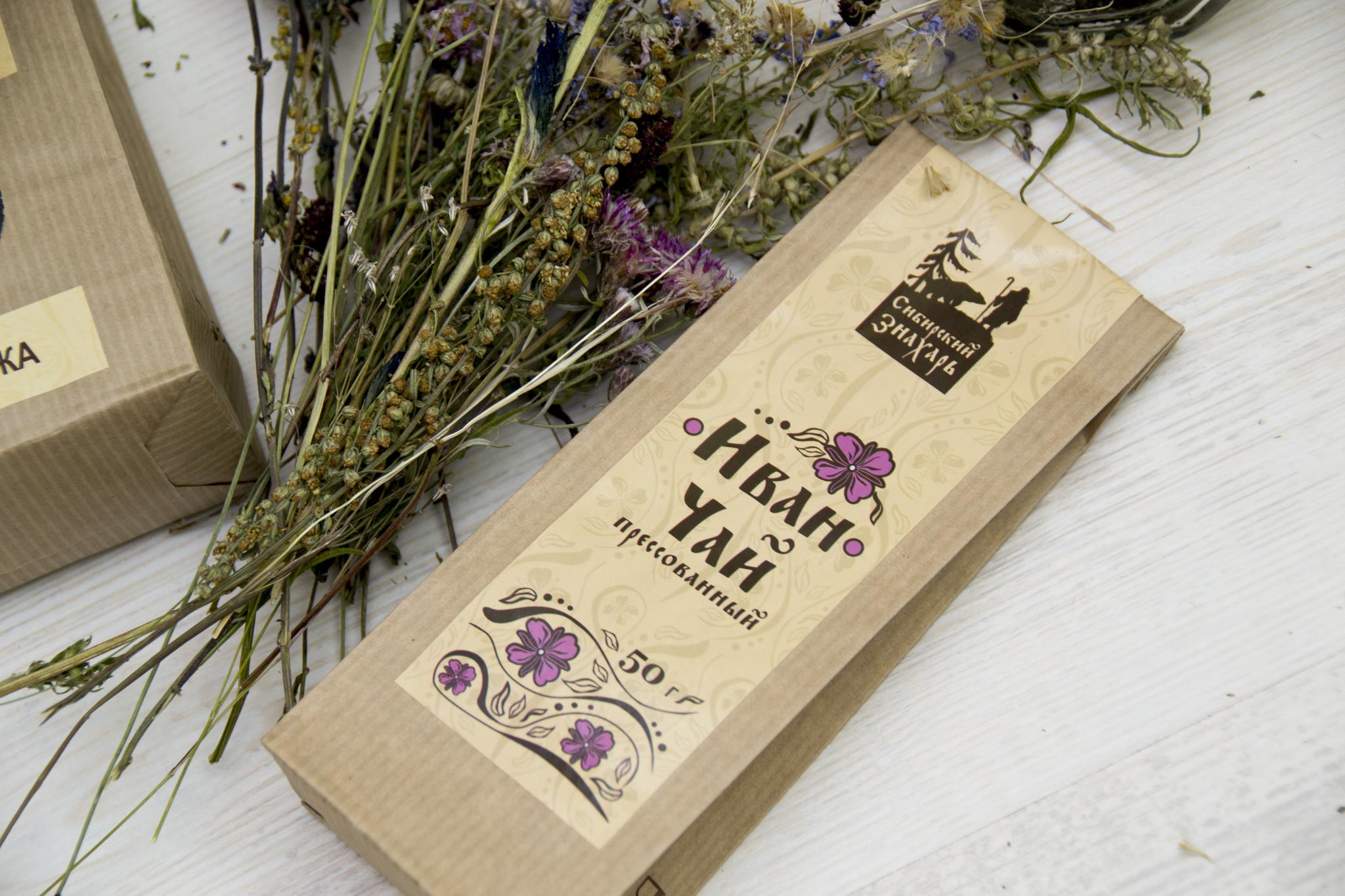 Иван-чай прессованный без купажа 50 грамм