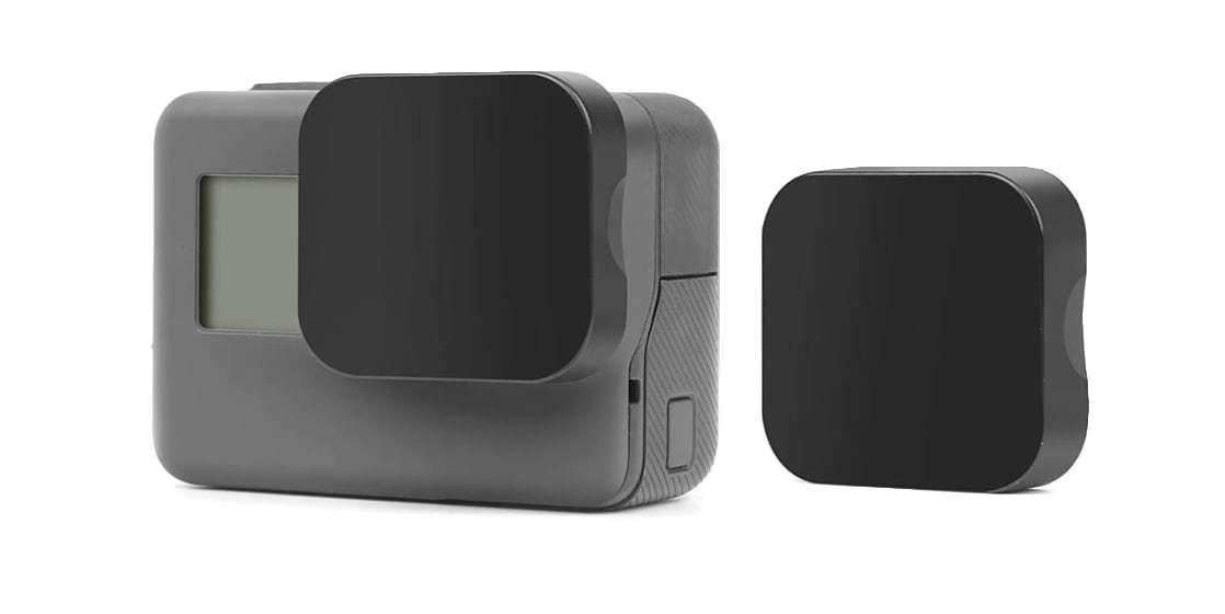 Защитная крышка на объектив HERO5, HERO6 и HERO7 Black c камерой