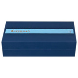 Перьевая ручка Waterman Exception Slim Black GT перо золото 18Ct F (S0636930)