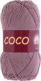Пряжа Vita Coco 4307 пыльная роза