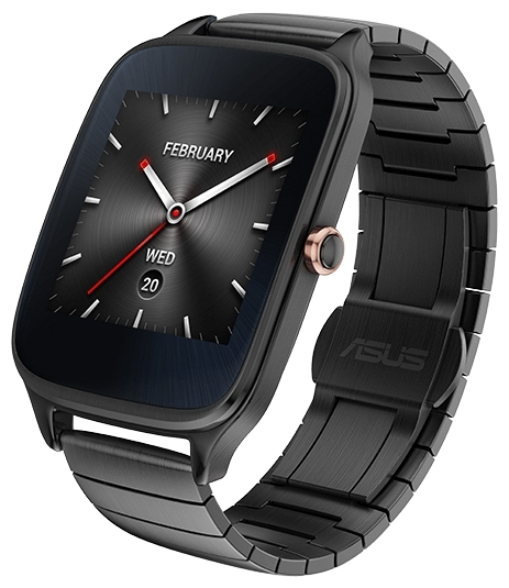 Умные часы ASUS ZenWatch 2 (WI501Q) metal Dark Grey