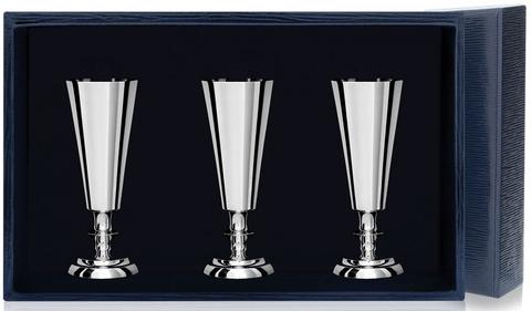 Набор серебряных рюмок №2 из 3 предметов