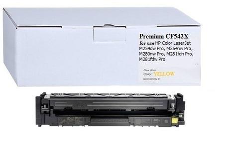 Картридж Premium CF542X №203X