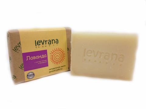 Levrana натуральное мыло, лаванда 100г