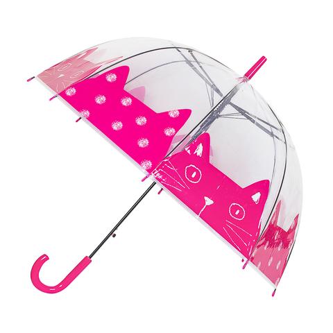 Зонт-трость Meow Fuchsia