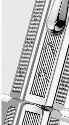 Carandache Ecridor - Chevron PC, ручка-роллер, F