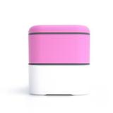 Ланч-бокс Monbento MB Original, розовый/белый