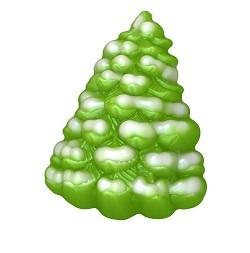 Елка снежная, форма пластиковая