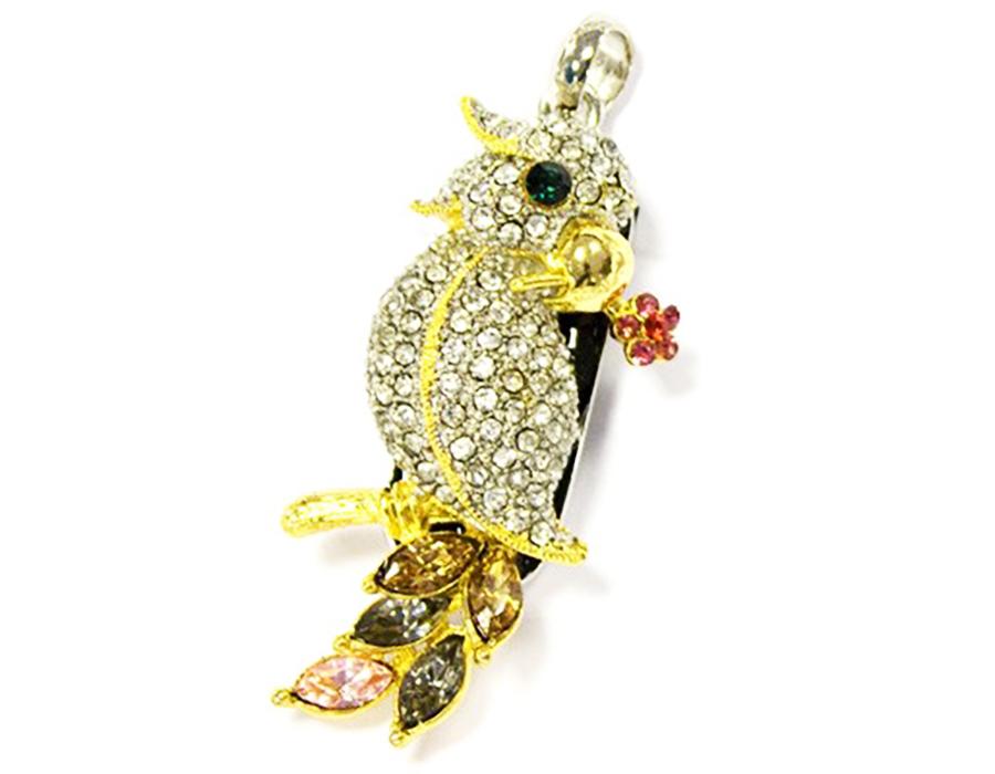 usb-флешка золотой попугай оптом