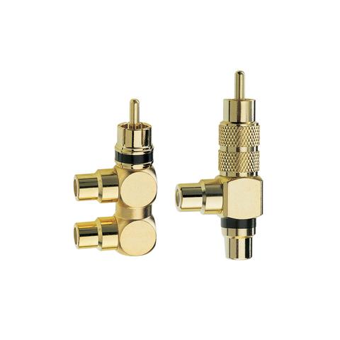 Inakustik Premium RCA F-Adapter 2-Set, 0080421